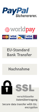 ::WorldPay :: PayPal :: EU-Standart Bank Transfer